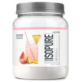 Isopure Infusions プロテイン 400g トロピカルパンチホエイプロテイン/筋トレ/スポーツ/フルーツ/タンパク質