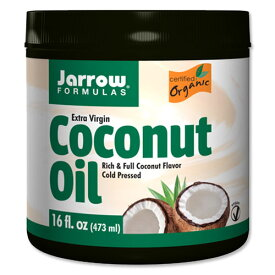 ココナッツオイル エキストラバージンココナッツオイル 473ml食品 調味料 油 エキストラバージン ダイエット Jarrow Formulas