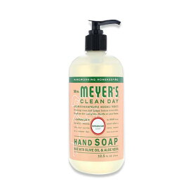 [NEW]Mrs. Meyer's Clean Day 液体ハンドソープ ゼラニウム 370ml(12.5floz)ミセスメイヤーズグリーンデイ手洗い 予防 対策 オシャレ 海外直送品 石鹸