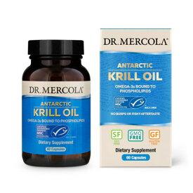 クリルオイル 60カプセル Dr. Mercola (ドクターメルコラ)オメガ3 DHA EPA アスタキサンチン 健康 話題
