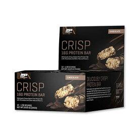 ◆ コンバットクリスプ プロテインバー チョコレート 12本 1本45g MusclePharm(マッスルファーム)スナック/チョコレート/グルテンフリー/運動/個別包装
