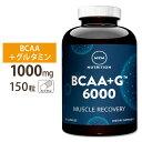 BCAA+G 6000 アルティメットリカバリフォーミュラ 150カプセル MRM(エムアールエム)筋肉/プロテイン/回復/アミノ酸【ポイントUP対象★11/10 17:00-11/24 9:59迄】
