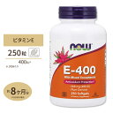 E-400 混合トコフェロール配合 250粒 ソフトジェル NOW Foods(ナウフーズ)抗酸化作用/動脈硬化/フリーラジカル/酸化…