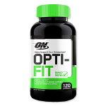 OPTI-FITカプセル120粒OptimumNutrition(オプティマムニュートリション)減量/チアミン/燃焼系/ナイアシン/オプチマム/緑茶エキス