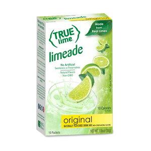 トゥルーライム オリジナルライムエード 10袋 30g(1.06oz) True Citrus(トゥルーシトラス)