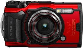 【新品】1週間以内発送 OLYMPUS デジタルカメラ Tough TG-6 レッド 1200万画素CMOS F2.0 15m 防水 100kgf耐荷重 GPS 内蔵Wi-Fi TG-6RED