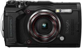 【新品】1週間以内発送 OLYMPUS デジタルカメラ Tough TG-6 ブラック 1200万画素CMOS F2.0 15m 防水 100kgf耐荷重 GPS 内蔵Wi-Fi TG-6BLK