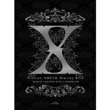 【新品】在庫あり即納!X JAPAN/X VISUAL SHOCK Blu-ray BOX 1989-1992 完全生産限定版 (Blu−ray Disc)