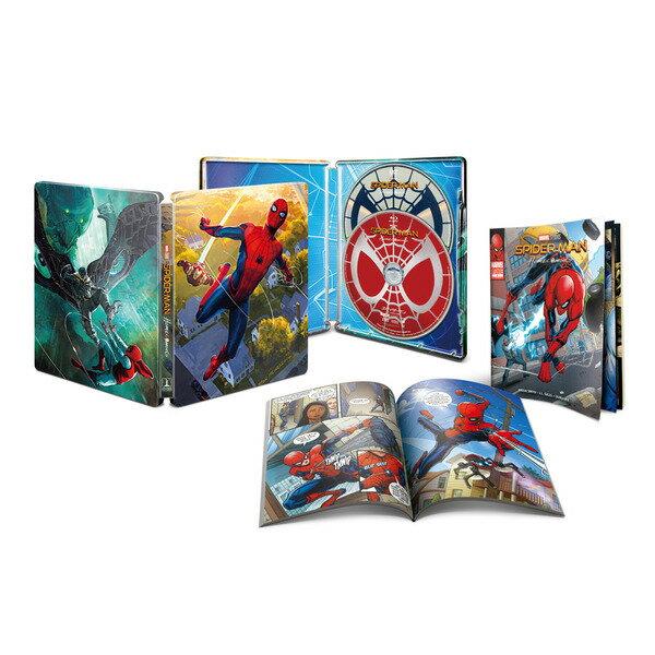 【新品】【即納】スパイダーマン:ホームカミング ブルーレイ&DVD スチールブック仕様【初回生産限定】(Blu-ray Disc)
