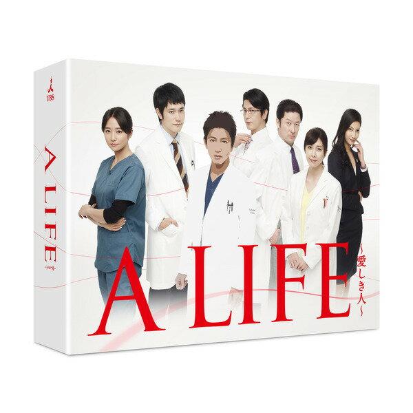 【新品】【即納】 A LIFE 愛しき人 Blu-ray BOX(Blu-ray Disc) 木村拓哉 竹内結子 松山ケンイチ ライフ
