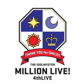 【新品】【即納】THE IDOLM@STER MILLION LIVE! 4thLIVE TH@NK YOU for SMILE! LIVE Blu-ray COMPLETE THE@TER(Blu-ray Disc)