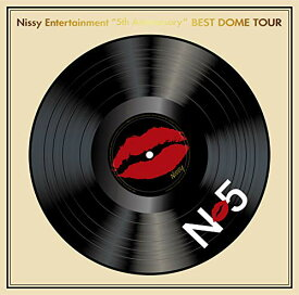"【新品】【即納】Nissy Entertainment ""5th Anniversary"" BEST DOME TOUR(Blu-ray Disc2枚組)(初回生産限定盤)(オリジナルグッズ付)"