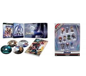 【新品】【即納】アベンジャーズ/エンドゲーム 4K UHD MovieNEXプレミアムBOX [4K ULTRA HD+3D+ブルーレイ+デジタルコピー+MovieNEXワールド](オリジナルミニコスベイビー10体セット付き) Blu-ray