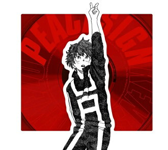 """The immediate delivery that there is new ☆ stock in! Rev. Gen Yonezu peace sign (hero board first limitation) (CD+ red jewel case + Hilo dirt TCG card) Single Limited Edition """"my ヒーローアカデミア"""" opening theme"""