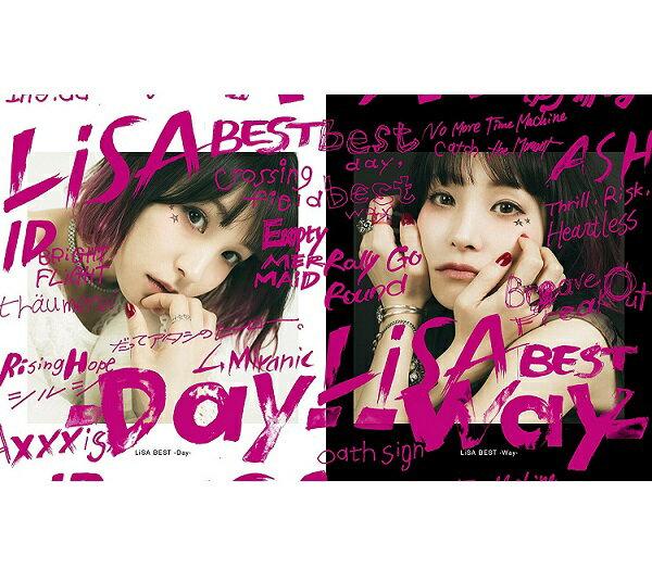 【新品】2018年5月9日発売予定!LiSA BEST -Day-&LiSA BEST -Way-(完全生産限定盤)(2CD+BD+Tシャツ) Limited Edition
