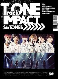 【新品】【即納】TrackONE -IMPACT-(初回盤)(DVD) SixTONES