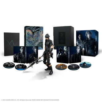 Brand new ☆ 11/2016 29 released! (PS4) FINAL FANTASY XV ULTIMATE COLLECTOR'S EDITION FF15