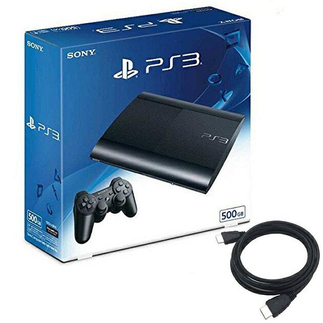【新品】【即納】PlayStation3 チャコール・ブラック 500GB (CECH4300C) 特典アンサー PS3用 HDMIケーブル2.0M付 貴重 プレイステーション3