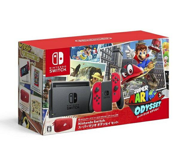 【新品】【即納】Nintendo Switch スーパーマリオ オデッセイセット 任天堂 スイッチ