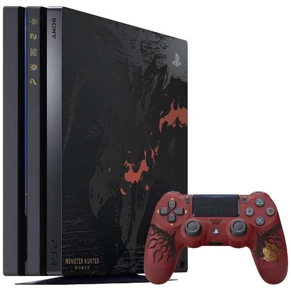 【新品】PlayStation 4 Pro MONSTER HUNTER WORLD LIOLAEUS EDITION モンスターハンター ワールド リオレウスエディション モンハン カプコン capcom CUHJ-10020