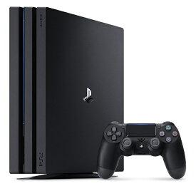 【新品】1週間以内発送 PlayStation 4 Pro ジェット・ブラック 1TB (CUH-7100BB01) PS4 ゲーム機 本体