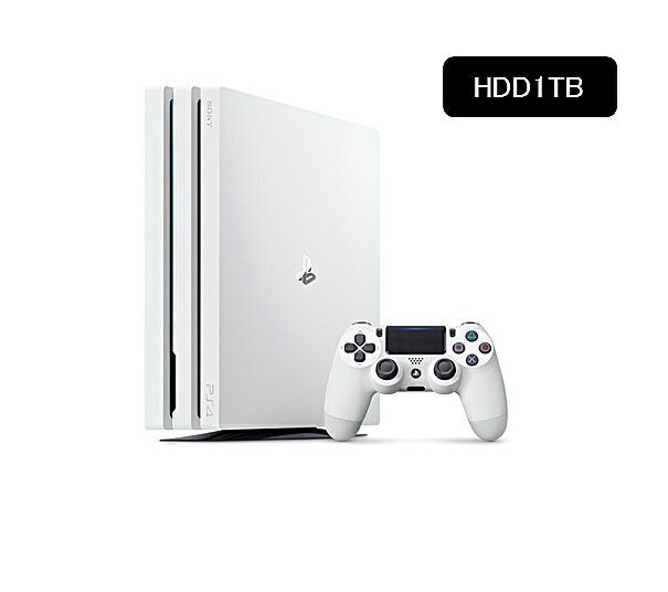 【新品】【即納】PlayStation(R)4 Pro グレイシャー・ホワイト 1TB CUH-7100BB02