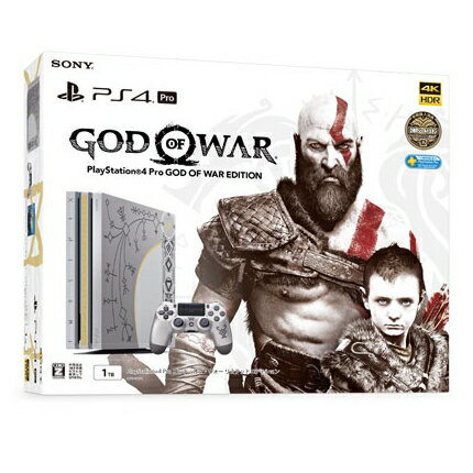 【新品】【即納】PlayStation4 Pro ゴッド・オブ・ウォー リミテッドエディション