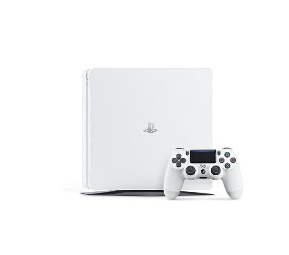 【新品】【即納】PlayStation 4 グレイシャー・ホワイト 500GB (CUH-2100AB02)
