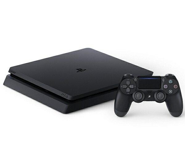 【新品】4月上旬頃入荷次第発送!PlayStation 4 ジェット・ブラック 500GB (CUH-2100AB01)