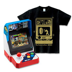 "【新品】【即納】NEOGEO mini + SNK Dot Hero's T ""Haou"" SNK Tシャツ (Lサイズ)"
