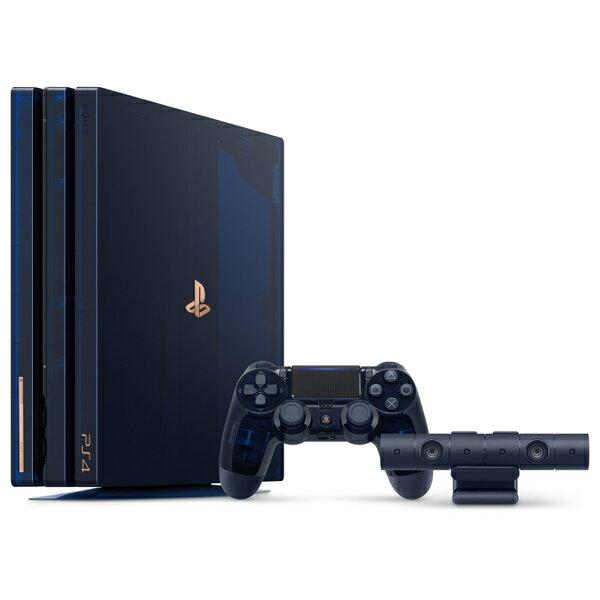【新品】2018年8月24日発売予定!PS4 Pro 500 Million Limited Edition CUH-7100BA50 5万台限定 濃紺 スケルトン PS Camera 縦置きスタンド カメラ PlayStation 4