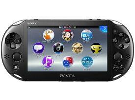 【新品】【即納】PlayStation Vita Wi-Fiモデル ブラック (PCH-2000ZA11) 本体 ソニー