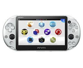 【新品】【即納】PlayStation Vita Wi-Fiモデル シルバー (PCH-2000ZA25) 本体 ソニー