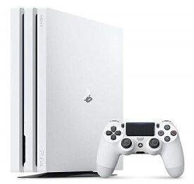 【新品】【即納】PlayStation 4 Pro グレイシャー・ホワイト 1TB (CUH-7200BB02) PS4 ゲーム機 本体