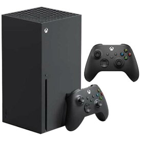 【新品】【即納】【商品パッケージへ難あり】Xbox Series X(エックスボックス シリーズ エックス) RRT-00015 + 【純正】Xbox ワイヤレス コントローラー(カーボン ブラック) QAT-00005