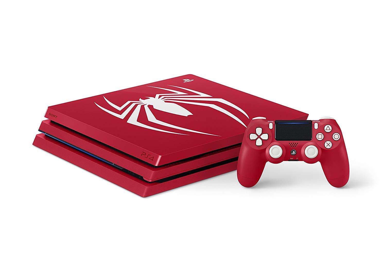 【新品】2018年9月7日発売予定!PlayStation 4 Pro Marvel's Spider-Man Limited Edition プレステ スパイダーマン 数量限定 赤 PS4