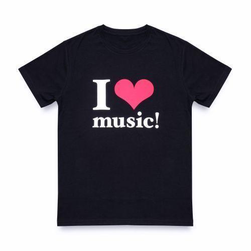 【新品】【即納】WE ハート(LOVE)NAMIE HANABI SHOW(安室奈美恵)/ I ハート(LOVE)music!Tシャツ BLACK Mサイズ