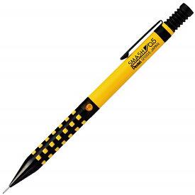【新品】【即納】ぺんてる シャープペン スマッシュ 0.5mm Q1005-PL3 イエロー×ブラック 文房具