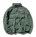 【新品】【即納】【サイズL】 オリーブ STRICT-G × ALPHA INDUSTRIES M-65 フィールドジャケット 『機動戦士ガンダム…