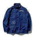【新品】【即納】【サイズL】 ネイビー STRICT-G × ALPHA INDUSTRIES M-65 フィールドジャケット 『機動戦士ガンダム…