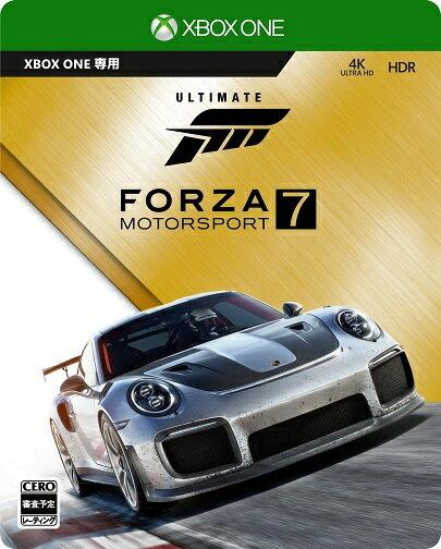【新品】【即納】Forza Motorsport 7 アルティメットエディション Steelbook特製ケース・アーリーアクセス・カーパス・VIPパック・The Fate of the Furious カーパック