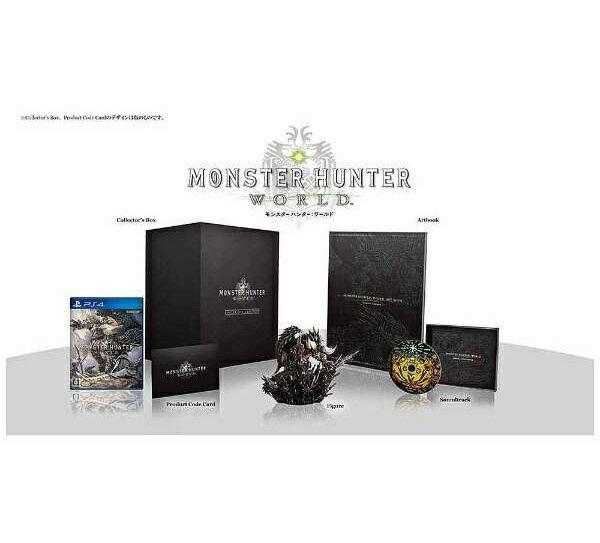【新品】2018年1月26日発売予定!PS4 MONSTER HUNTER:WORLD COLLECTOR'S EDITION モンスターハンター:ワールド コレクターズ・エディション モンハン PS4 ゲームソフト カプコン 数量限定
