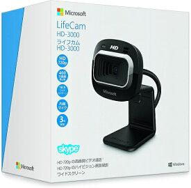 【新品】入荷次第発送 マイクロソフト Webカメラ LifeCam HD-3000 T3H-00019