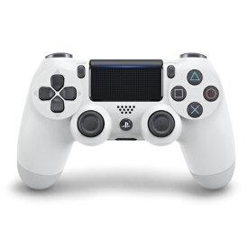 【新品】【即納】ワイヤレスコントローラー(DUALSHOCK 4) グレイシャー・ホワイト PS4