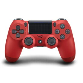 【新品】【即納】ワイヤレスコントローラー(DUALSHOCK 4) マグマ・レッド PS4 赤 CUH-ZCT2J11