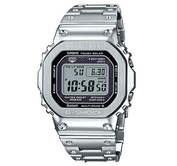 【新品】【即納】 CASIO G-SHOCK デジタル ソーラー メンズ 電波時計 Bluetooth ブルートゥース 対応 腕時計 GMW-B5000D-1JF【2018 新作】