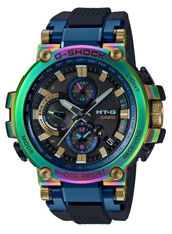 【新品】【即納】[カシオ]CASIO 腕時計 G-SHOCK ジーショック MT-G Bluetooth 搭載 電波ソーラー MTG-B1000RB-2AJR メンズ