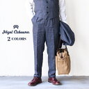 NIGEL CABOURN ナイジェル・ケーボン (SIZE:W30 - W38) GENTLEMAN PANT CHAMBRAY 2 COLORS MAIN LINE