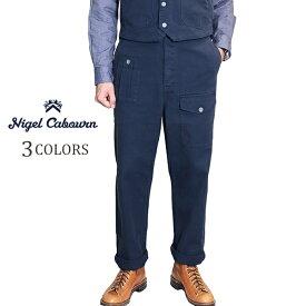 NIGEL CABOURN × LYBRO ナイジェル・ケーボン × ライブロ (SIZE:W30-W38) WWII PANT GARMENT DYED COTTON HERRINGBONE 3 COLORS