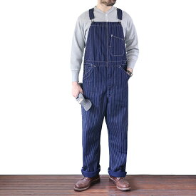 FREEWHEELERS フリーホイーラーズ SILVER HAMMER BIB OVERALLS LATE 1890s 〜 STYLE WORK CLOTHING UNION SPECIAL OVERALLS INDIGO WABASH STRIPE